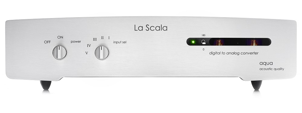 eine Wucht ! schreibt die AUDIO 07-17 über den neuen Aqua La Scala MK II Optologic...