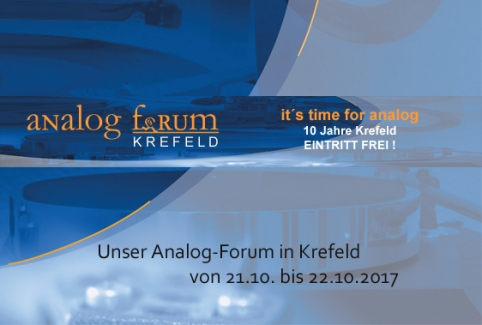 Analog-Forum Krefeld 2017