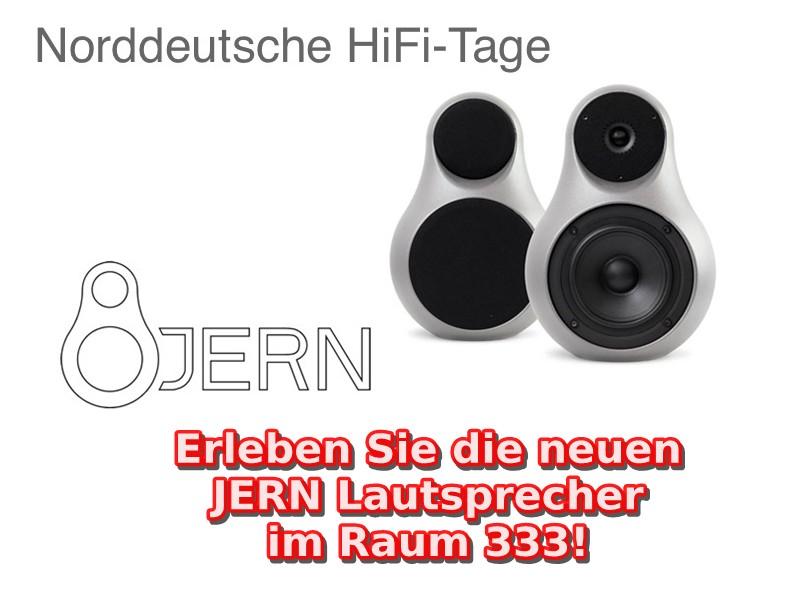 JERN Lautsprecher im Raum 333 bei den Norddeutschen HiFi-Tagen in Hamburg