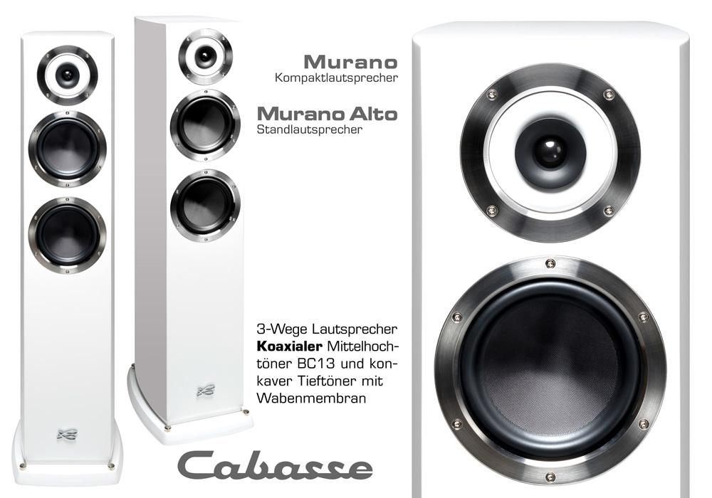 Cabasse Murano und Cabasse Murano Alto