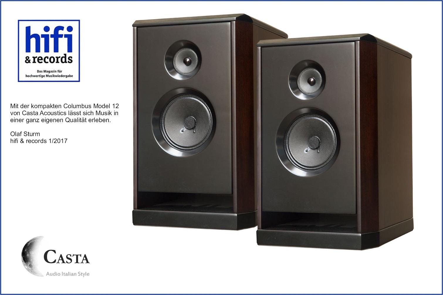 Kompaktlautsprecher von CASTA