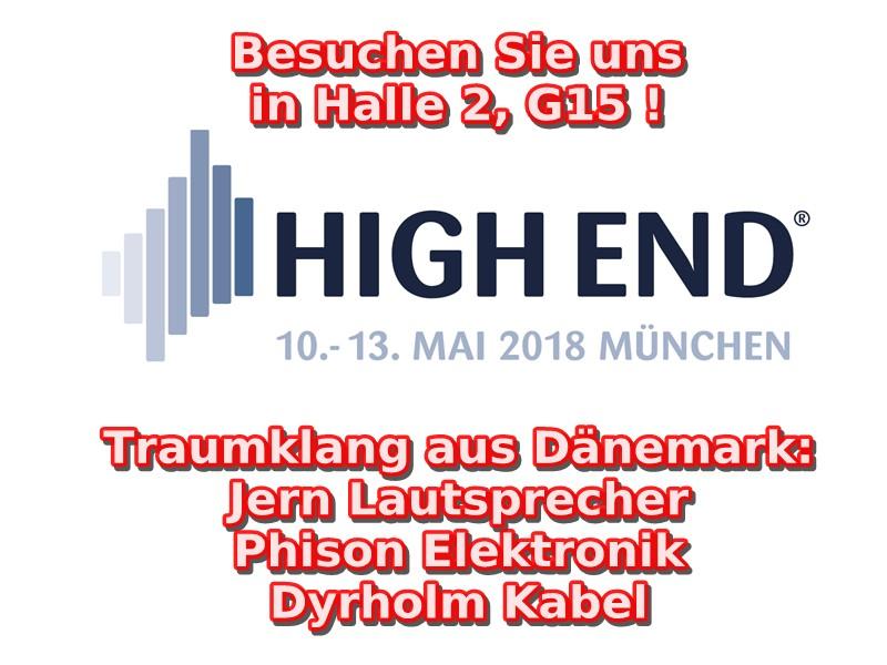 Traumklang aus Dänemark bei der High End in München diese Woche!