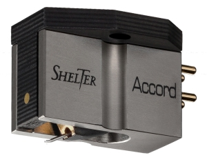 SHELTER Modell ACCORD MC Tonabnehmer by EXPOLINEAR