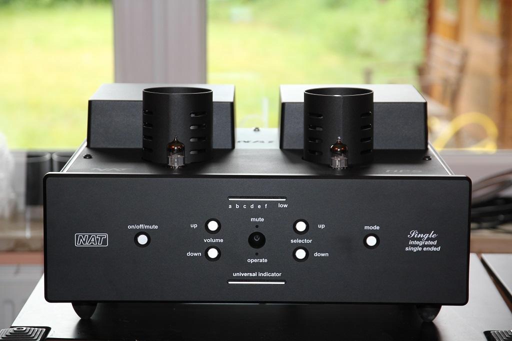 Der neue Single Ended NAT Vollverstärker ist angekommen www.audio-offensive.de      03322-2131655