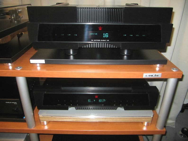 Gryhon Verstärker und CD Spieler