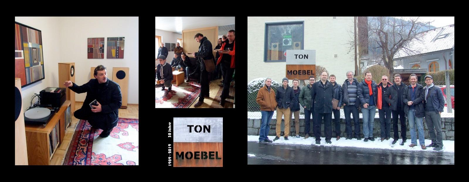 Internationale Jazzmusiker im TonMoebel Studio