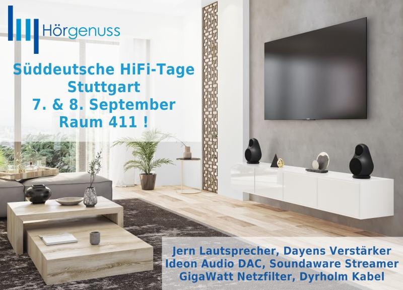 Süddeutsche HiFi-Tage 7. & 8. September Raum 411