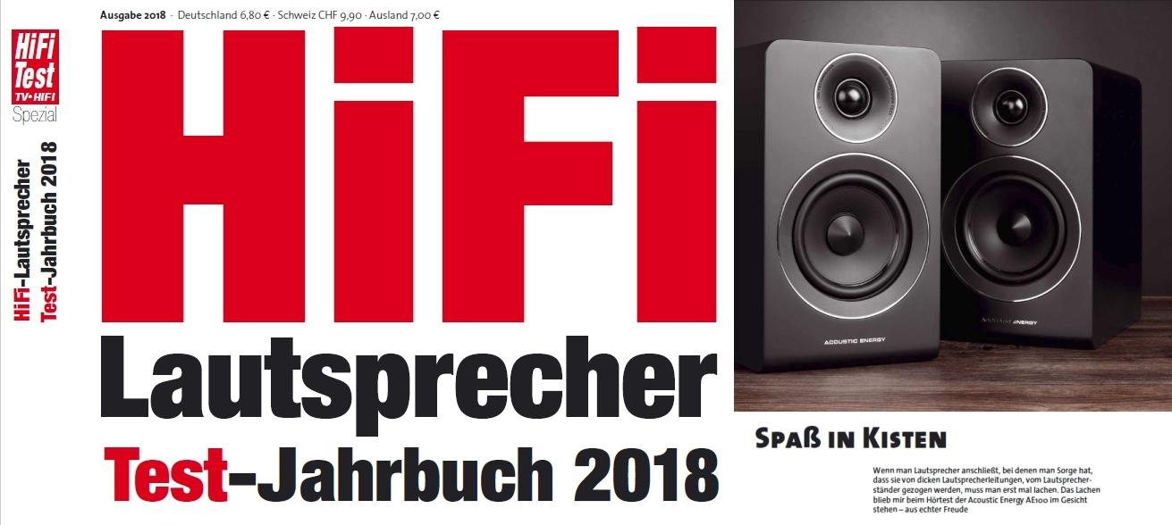 Der Kompaktlautsprecher Acoustic Energy AE 100 im Test der hifitest.de