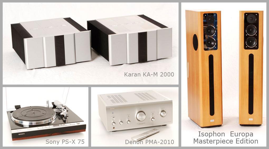 Neu Eingetroffen! Karan Acoustics KA-M 200 und vieles mehr ...