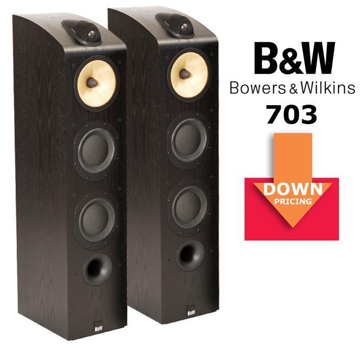 Bowers & Wilkins 703, FÜR KURZE ZEIT STARK REDUZIERT! B&W 703, jetzt stark reduziert!