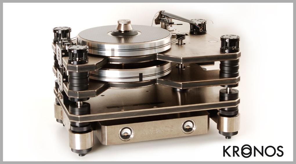 Jetzt: State of the art Plattenspieler Kronos Pro bei uns im Webshop!
