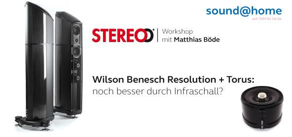 Wilson Benesch Resolution + Torus: noch besser durch Infraschall?