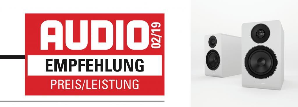AUDIO-Empfehlung Preis/Leistung für die AE 100 Audio Empfehlung: Acoustic Energy AE 100