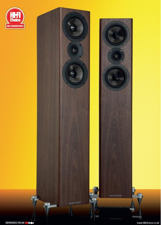 "ACOUSTIC ENERGY AE 509 – Hifi Choice ""Recommended"""