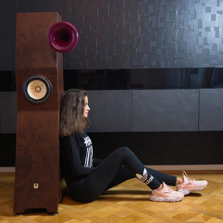 TUNE AUDIO Hornlautsprecher – tonal überragend – mit REAL BASSHORN - nur live Musik ist besser! Tune Audio Marvel Horn Lautsprecher