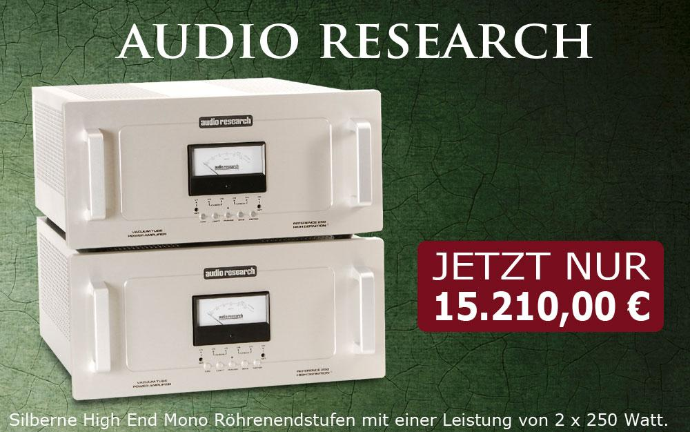 10% Rabatt auf Audio Research Reference 250 Endverstärker