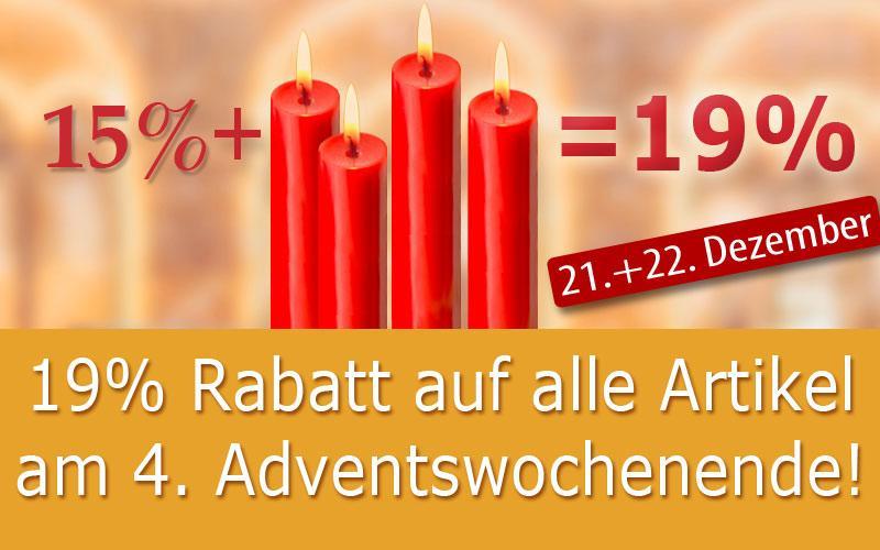 19% am 4. Advent auf alles!