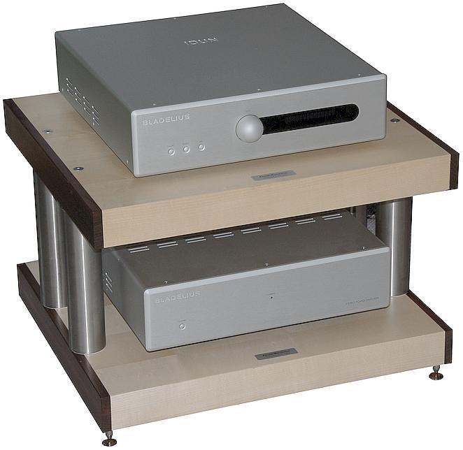 Audiophile Highend Racksystem & Gerätebasen