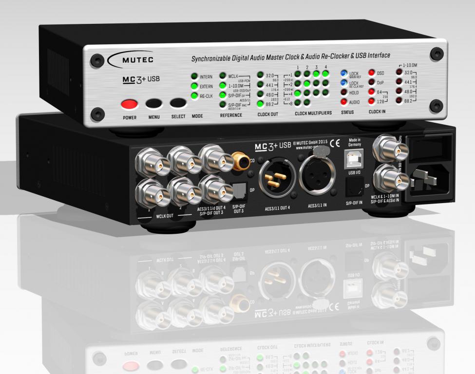 Der audiophile Durchbruch: MUTEC MC-3+ Smart Clock für Digitalquellen