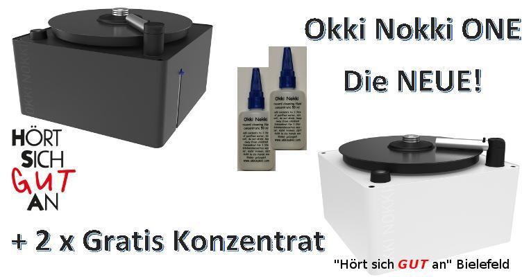 Okki Nokki One die neue Plattenwaschmaschine