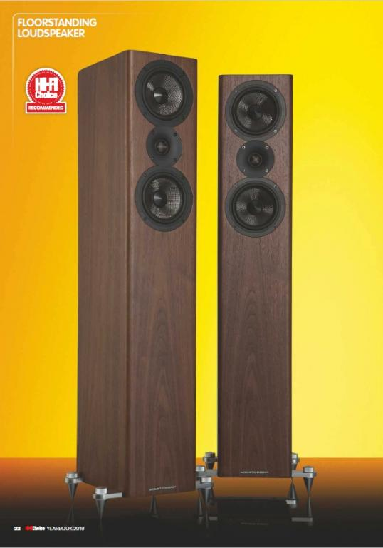 ACOUSTIC ENERGY AE 509 - Stereo Star of the year