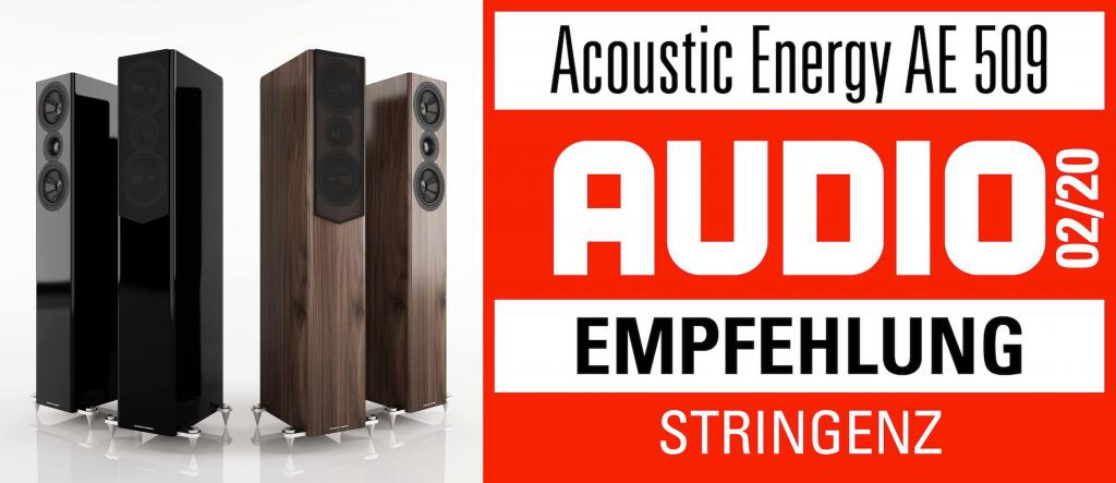 ACOUSTIC ENERGY AE 509 - AUDIO-EMPFEHLUNG