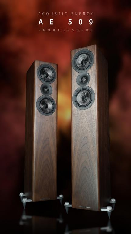 ACOUSTIC ENERGY AE 509 beim Fullrange Audiowebzine Acoustic Energy Standlautsprecher AE 509 im Fullrange Audiowebzine-Test