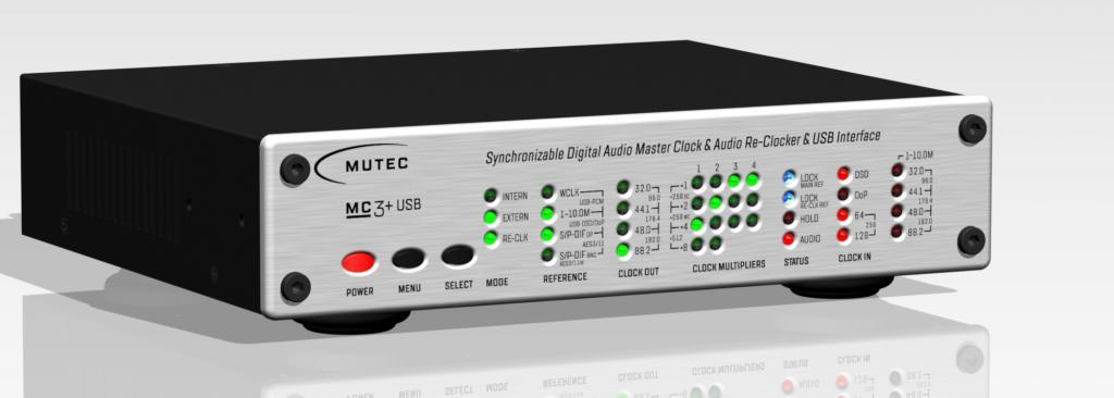MUTEC MC-3+ Smart Clock - der audiophile Durchbruch