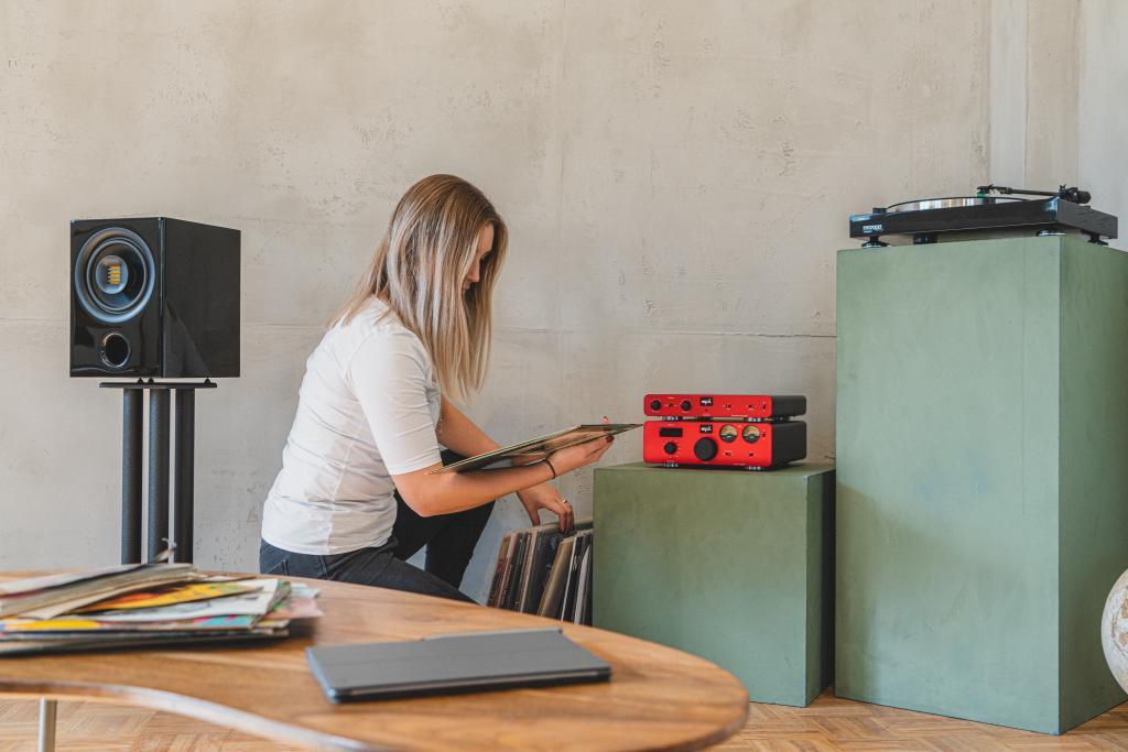 Fluid AUDIO CX7 HiFi Aktiv Coax-System mit AMT-Hochtöner ideal für Streaming