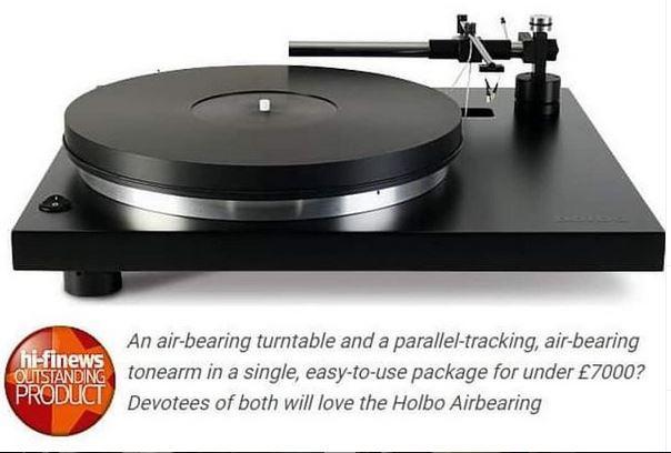 HOLBO airbearing Turntable NEU!!!