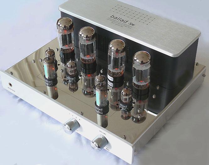 Ballad neuer Röhrenverstärker Vacuume Tube Amplifier komplett ab 799,-Euro