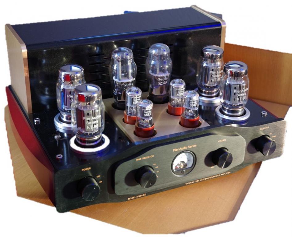 Pier Audio MS 88-SE - Klangstarke und wunderschöne Vollröhre-