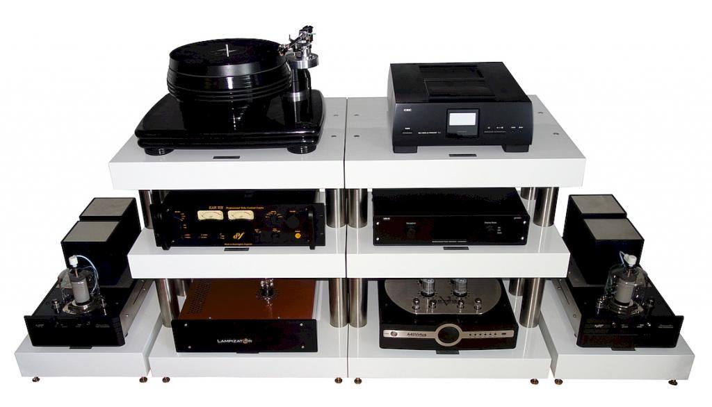 Highend Racksysteme & Gerätebasen 100% Made in Germany