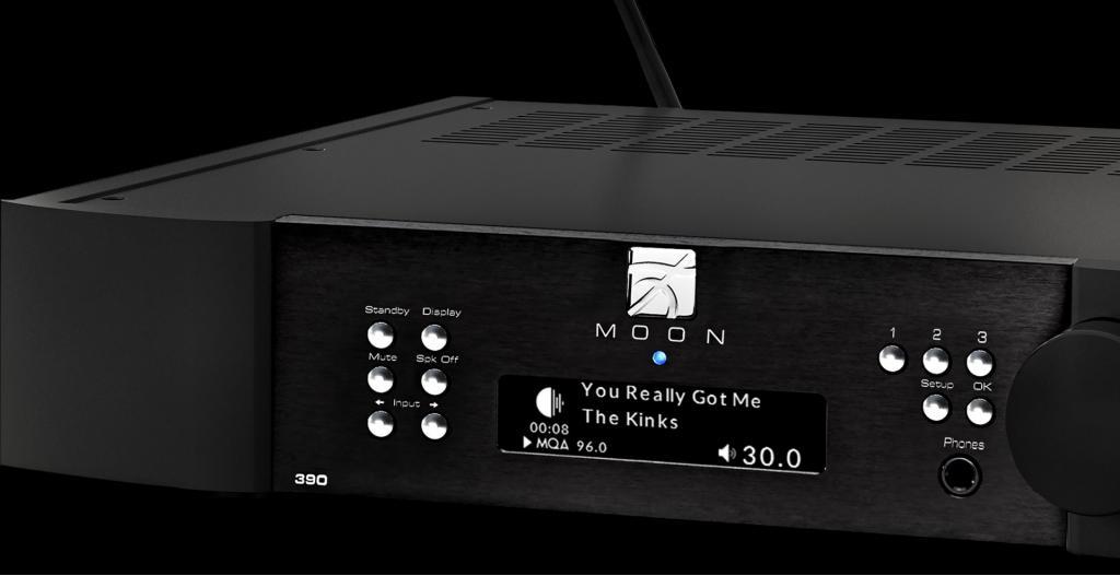 MOON 390 Vorverstärker / Netzwerk-Player / DAC
