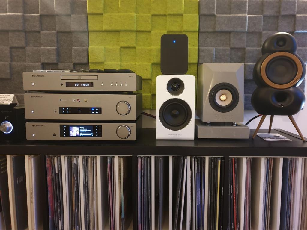 Wiedereröffnung nach Corona-Pause: Authentic Sound in Worms Wiedereröffnung nach Corona: Authentic Sound in Worms mit Lautsprecher von Acoustic Energy