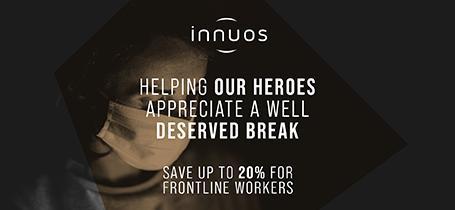 Innuos Promotion für Corona Frontline Heroes - bis zu 20% Rabatt