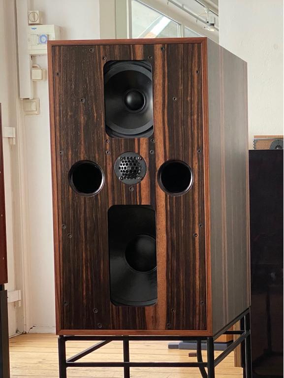 Amre`Ibrahim ist richtig begeistet von der Graham Audio LS 5/5 in der neuen IMAGE.