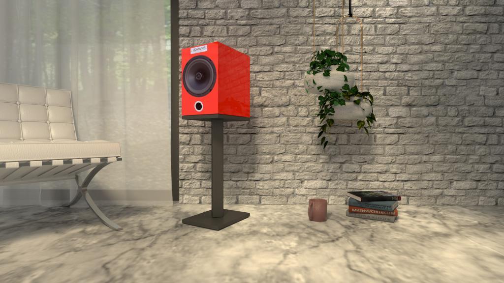 Neuer UBSOUND FEEL FL32 Rot: handgefertigte italienische Premium-Lautsprecher