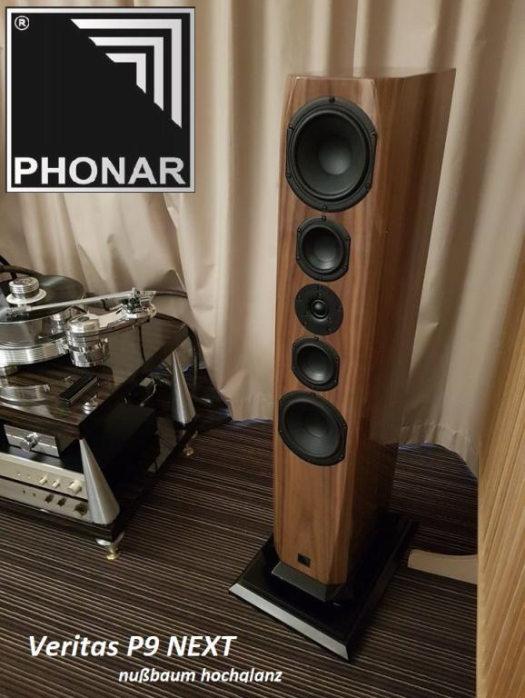 Phonar Veritas P9 NEXT  - Ein herausragender und zugleich erschwinglicher High-End-Lautsprecher.