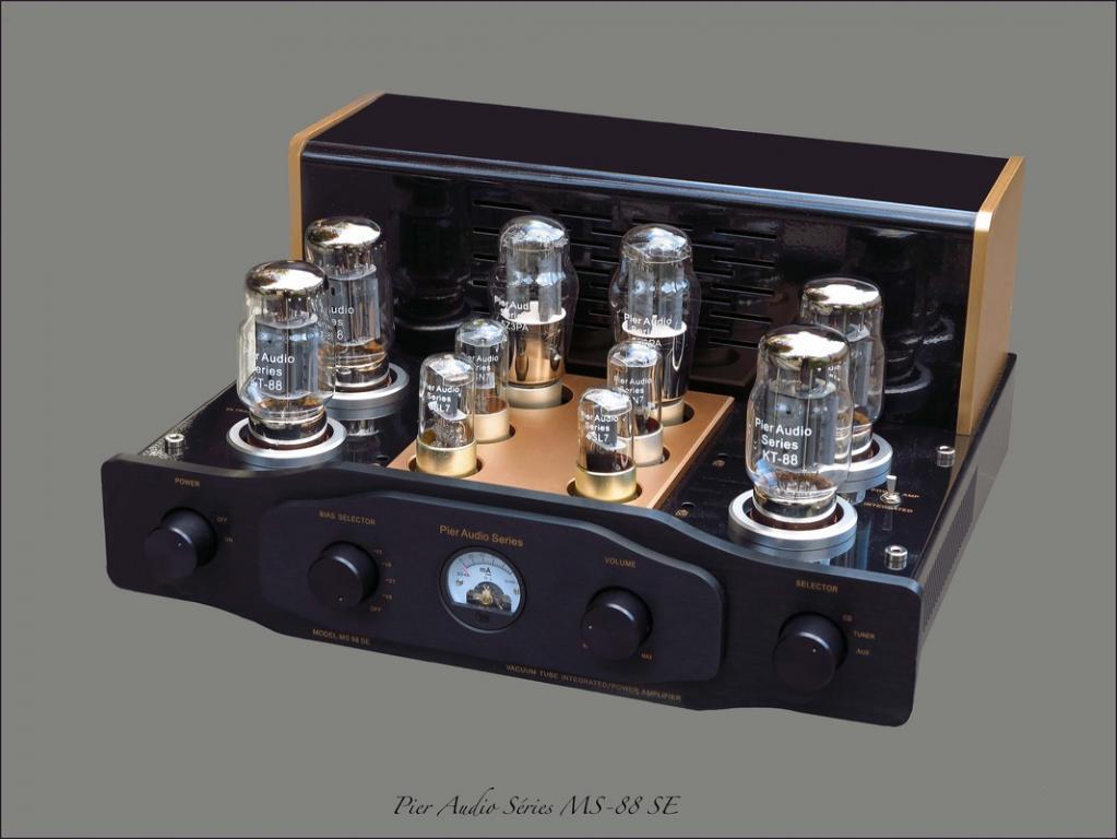 Pier Audio MS 88-SE Klangstarke und wunderschöne Vollröhre aus Frankreich für Jedermann