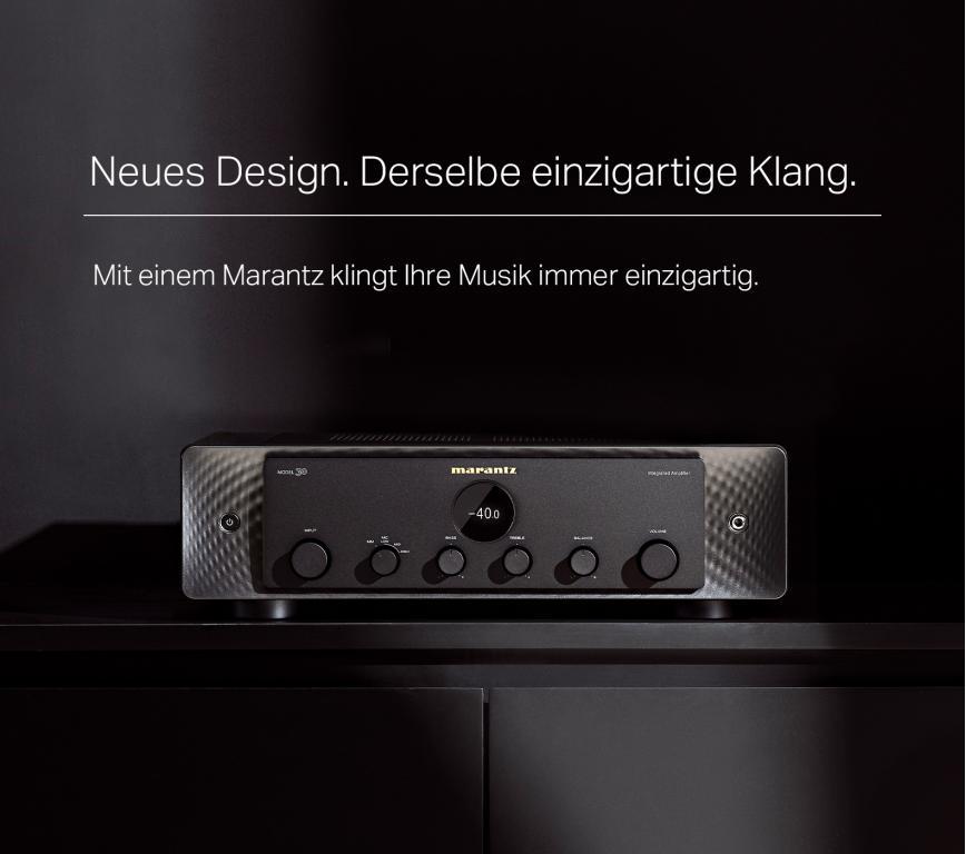 Marantz Model 30 Verstärker und SACD - Netzwerkplayer