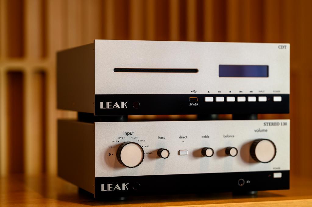 Leak Audio Stereo 130 & CDT