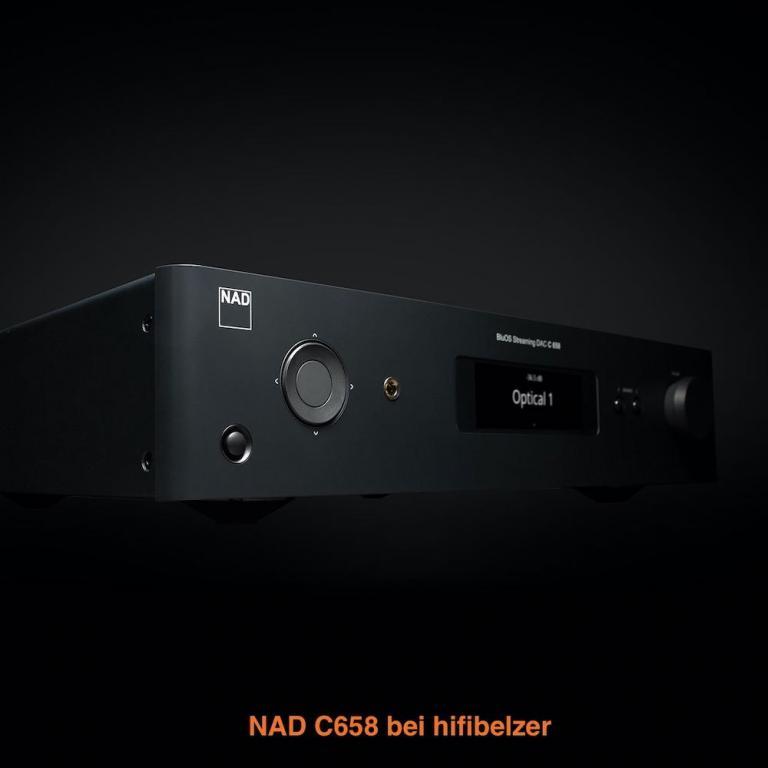 NAD C298 und C658 bei hifibelzer
