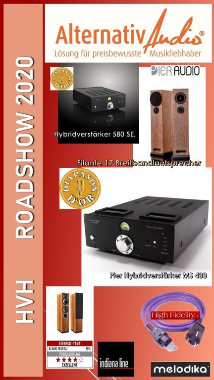 Pier Audio Hörtage bei AlternativAudio vom 30.10-14.11.2020