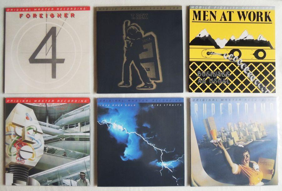 Original Master Recording LPs