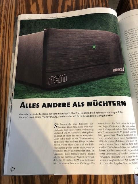 Alles Andere als Nüchtern -  schreibt Christian Bayer in der LP 03/20...