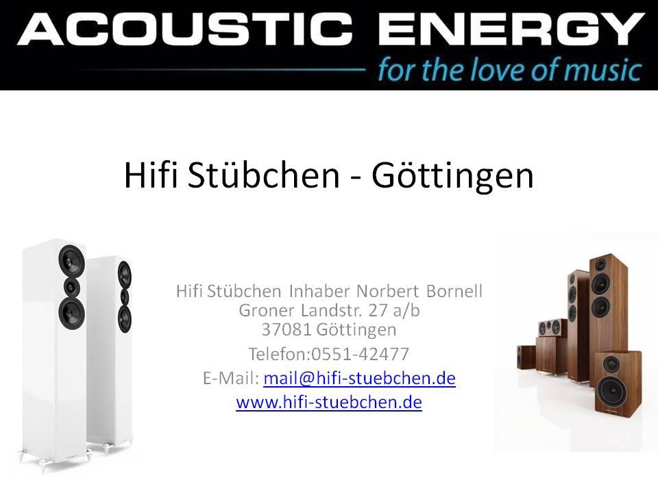 Unser ACOUSTIC ENERGY Partner in Göttingen