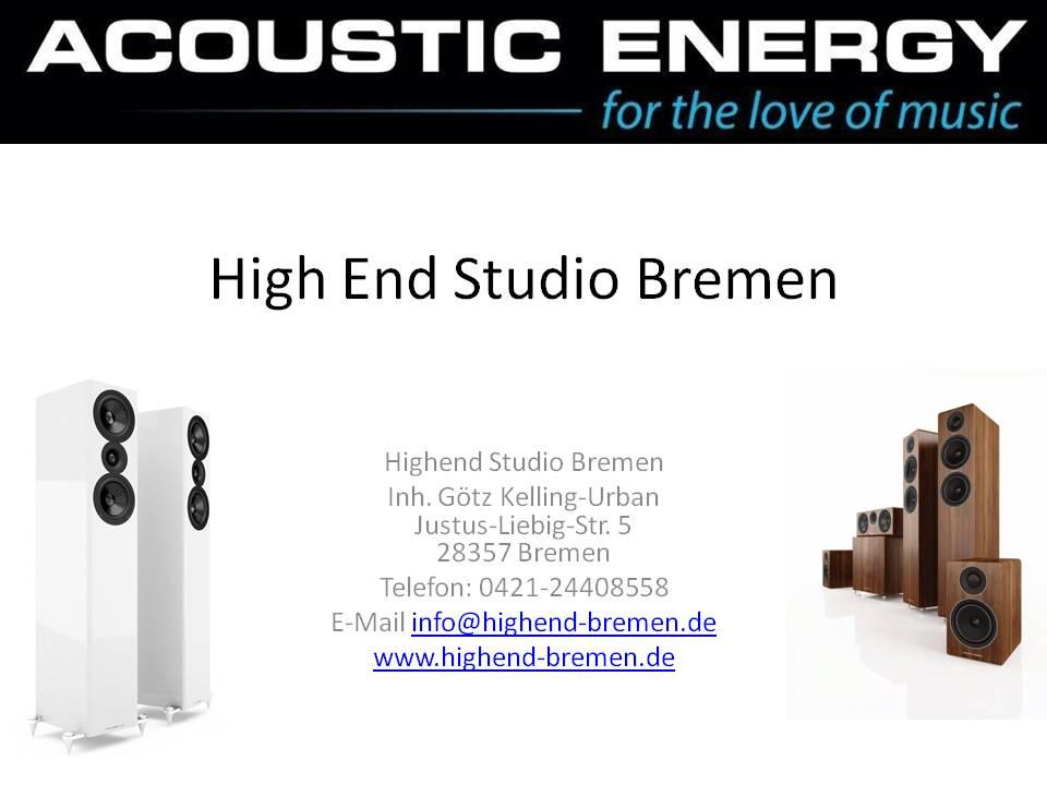Unser ACOUSTIC ENERGY Partner in Bremen