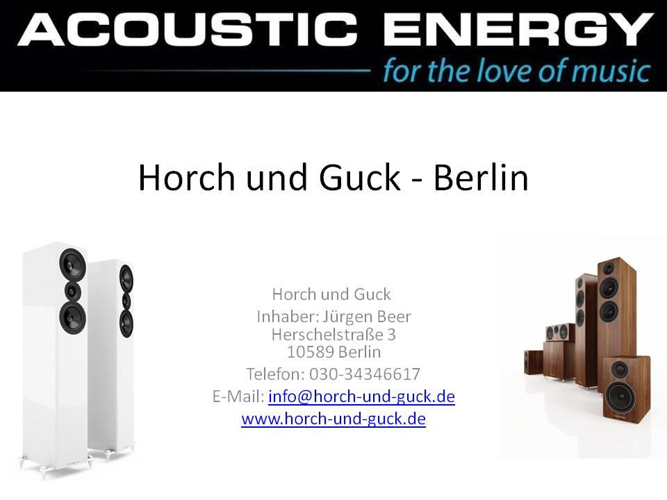 Unser ACOUSTIC ENERGY Partner in Berlin