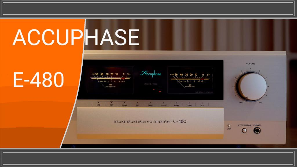 Accuphase E-480 YouTube Video